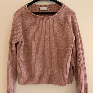 Super soft cropped sweater!